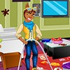 Clawd Wolf is always busy with sports at monster high that he never gets time to clean up his room. He thinks cleaning and managing the room are not his works rather concentrate on other important things at monster high. Let's help this cool guy tidy up his room and clean up the mess. Put the things back in their places and make the room look neat. Have fun playing this room cleaning game!