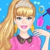 The prom is a very exciting moment in every girls life and for Barbie it's a special occasion to get dressed in glamorous outfits and get a very cute manicure. Join her in the Barbie Prom Nails Designer game and help her create a great selection of nail polishes and to choose the best outfit. For the nail polish creation you can mix and match colors and patterns from the palette. In Barbie Prom Nails Designer you can create unique manicure by mixing and matching nail polishes. Add some rings on the fingers and the prom prep it's done. Have fun playing Barbie Prom Nails Designer!