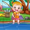 Yuppie! It is time to go fishing! Today Baby Hazel's uncle is going to take o