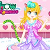 Look at the Cat Girl who is dressing up in the dress up games . She is happy now , because she will attend a big party today . You know , a different good look will make her more shinning in the party ,so she need some new ideas to help .Girls ,can you give her some suggestions ? Let's help her ! Check all of the clothes and you girls are going to love all the clothing. Great shirts, fabulous summer skirts and divine gowns, try all of them and create a fashion Cat Girl glamour style in the cat country ! I belive you will have a surprise in the dress up games .