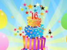 It's your 16th birthday and you get to design your very own Sweet 16 cake for y