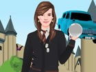 Help Hermione get ready for the last Harry Potter movie! Dress her up according