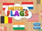 Use your memory power to match the Flags.