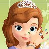 Sofia the First starts another royal day at the palace.She always wants to look like a princess so before all the royal duties she takes a tour at the castle nails salon. Give to Sofia a royal manicure by giving her a royal treatment at the salon, pick the right nail color ,jewelry and bracelets