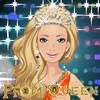 One of the dreams of all young girls is to be prom queen. This beautiful girl w