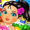 Meet Dora's friend Naiya. She is süper smart girl. She is very good at mathematic and science. She can learn new languages easily. She is from Playa Verde city. You can join Naiya as she discovers magical places and new things about her city. Yo can dress up , facial make up and make up by playing dressupgamesite.com latest game Dora and Friends Naiya.have fun!