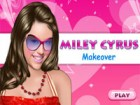 you can make up Miley Cyrus in this online flash game.