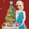 Christmas is coming and Elsa wants to have a gorgeous Christmas tree. Help her to shop everything that she needs and decorate the Christmas tree fast ! Elsa will be very happy !