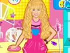 Help Hannah Montana to clean her house and deco...