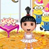 Cute Agnes wants the most beautiful birthday party along with 