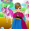 Ther'es great news in the kingdom. Princess Anna is Pregnant! And you can you b