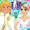 Anna and Kristoff are going to get marry today. There are so many things to be done before the wedding. But the most important one is to think through the wedding style. Help Anna and Kristoff to become the most beautiful couple ever!