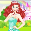 Princess Ariel is having a Sweet 16 party at the castle! All her friends will be there and she's so excited! She absolutely doesn't know what to wear, though. She wants to try on several different looks so she can compare them. In this dress up game you can dress her up three different times and then choose your favorite of all three looks at the end!! Have fun playing ariel dress up games.