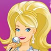 Barbie is a popstar and she has a concert tonight! Dress up popstar Barbir for tonight's concert.