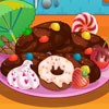Kids favourite snacks are cookies and chocoloates. By playing this game you are trained to prepare a different snack which is a mixture of chocolate and cookies. It is very easy to make .To know the tips play this crispy chocolate cookie maker game.Have a sweet Day with chocolate cookie.