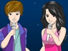 You have the chance to color Selena Gomez and Justin Bieber because they will s