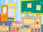 Every children remember his first classroom day and his this game, you have the