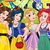 Disney Princesses are waiting edgily for the party. There is a rumor that some