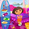 Do you remember Dora ?She's a very brave girl.She likes to go camping and she o