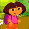 Dora is looking for Boots, who just lost in the...