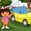 Dora has been invited to go for a car show toda...