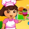 Dora is a great fan of burgers, so she decided to open a burger cafe! She wants