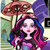 Two of your favorite Monster High doll, gorgeous Draculaura and stylish Robecca Steam, got accidentally fused together in a freaky fusion and as a result they became a single character named Dracubecca. This new fabulous character is a half robot and a half vampire doll and right now she's a little bit confused about her fashion style… should she wear some Gothic inspired clothes just like Draculaura or one of Robecca's signature cooper trimmed two pieces outfit? Or maybe a mix of the two fancy styles? Here is your your chance, in DressUpWho's brand new dress up game you are getting the chance to be Dracubecca's personal fashion adviser and help her decide on the style she should go for. Start by selecting her a new hairstyle in pink and blue shades, and then select a colorful outfit to dress her up with. It can be a strapless dress with lots or ruffles, bows and dots or it can be a chic top paired with an elegant mini-skirt or with some leggings. Accessorize with robotic wings or bat earrings, oversized glasses, girly-girl lace gloves and designer bags. Have a great time playing this brand-new Monster High 'Dracubecca Dress Up' game!