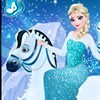 As we all know Elsa loves the cold weather! She is going to put on a beautiful gown and take a snowy ride through the mountains of Arendelle. Have fun dressing her up and applying her makeup first. Don't forget to choose a pretty mane and tail for her horse and also some sparkling horse gear! Enjoy this frozen dress up game from sky breeze games!