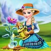 Elsa is gardening with Olaf as her assistant and wants to grow some of the most beautiful flowers in Arendelle. Join her and the funny snowman in the royal garden and help them take care of plants in a magical way. Place the seed in the ground and make sure you water it enough so that it doesn't dry out. Spray the plant with a special blend of nutrients and watch it magically bloom. The bright and beautiful flower is now shining under the sun and Elsa's garden is one step closer to becoming the most amazing and relaxing place in the whole kingdom.