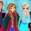 Elsa and Anna was playing snowballs, when, sudd...