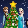 Christmas has come for the frozen family! Elsa and Anna are decorating the Chri