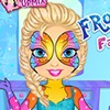 Elsa decided to make a huge Christmas party! And what can make every party even better? A face and body art, of course. Help Elsa to choose a picture and than take a brush and show your best!