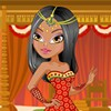 This lovely indian fashionista is getting ready to go on a date with a handsome boy from her homeroom class. She can't wait to spend the day on a romantic date, but first, she needs to get dressed up for this special occasion. It's been a while since she's been on a date, so she's beginning to feel nervous. She wants to show off her beautiful indian heritage, so she's decided to dress up in traditional indian clothing so that her date knows just how proud she is. Browse the wide selection of traditional clothes, fancy jewelry, pretty hairstyles, and more to get this cute girl ready for her date in this fun dress up game!