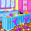 Clean a beautiful kitchen with 5 wonderful level. This is a fun game to play. E