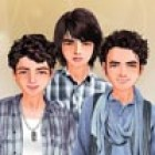 Dress up Kevin Jonas, Joe Jonas and Nick Jonas as you like with these clothes a