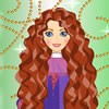 Merida is such a fidgety princess! She is alway...