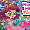 Little mermaid princess is throwing a tea party for the girls. But she has so m