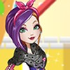 Poppy is the daughter of the famous princess Rapunzel! Poppy has a job at the Tower Salon in the Village of Book End. She loves all things fashion and beauty but her rebellious personality shines in her clothing choices. Dress her up in funky tops and skirts, pair them with some colorful tights or choose a cute dress. Have fun playing ever after high dress up games with sky breeze!