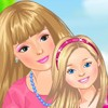 Play this game and dress up the little baby sister for a walk in the park, on a sunny day. Choose from a variety of cute, colored dresses and accessories. Have fun!