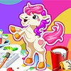 Create color like no other with this fabulous pony coloring game! Now you can c