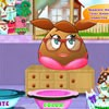 Hi girls, do you want to help Pou Girl wash up her lovely dresses and make them