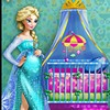 Elsa is pregnant and she needs your amazing designer skills to decorate the baby's room. Choose from different furniture elements and make the room cute and childish, but in an elegant and royal way. Match everything together and you will have the perfect environment for Elsa's baby!