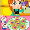 Princess Anna is planning to give Elsa a big Easter surprise. She has two easy