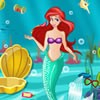 Princess Ariel lives deep under the water in her underwater kingdom and her ter