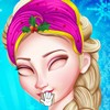 Frozen princess Elsa needs a little preparation for Christmas with her look. Sh