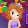 Today is Princess Sofia's birthday. She already has lots of fancy dress, but fo