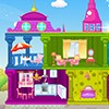 When it comes to creating a beautiful doll house for your princess, look no further than this decoration game. You can choose the design and location of the rooms, add all the furniture to make each room special, decorate the outdoors of your doll house, as well as change the colors of your furniture pieces to compliment your princess's home.