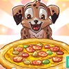 You new puppy just turned 1 year old. He is ready to have his birthday party pizza. Make this cute little guy the perfect puppy pizza. Find the ingredients, prepare and bake the pizza, then serve it up to your new puppy.