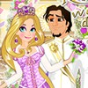 Today an important day for Rapunzel and Flynn! They're going to get married.