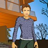 Dress up Famous actor Robert Pattinson with cool clothes.